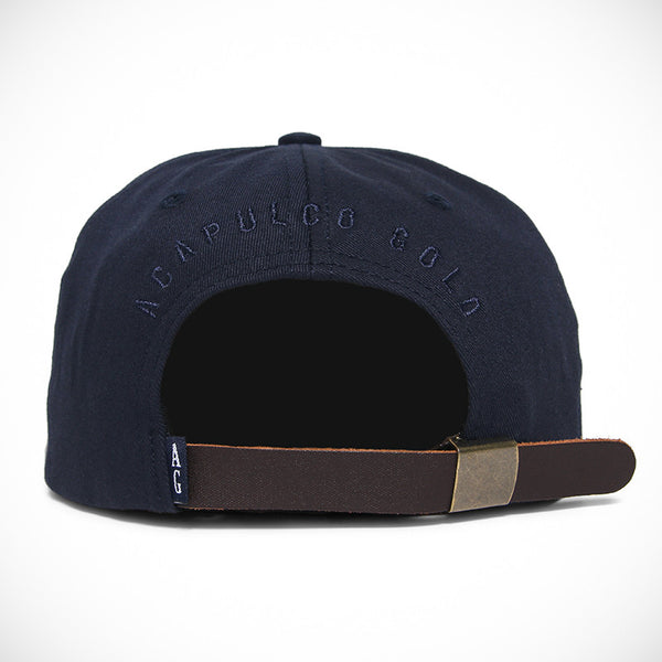 Acapulco Gold - Reaper 6 Panel Cap - Navy