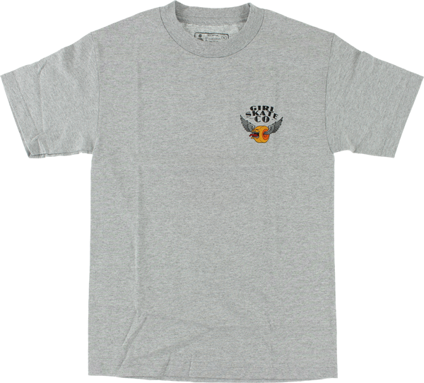 Girl - Biters Tee - Heather Grey