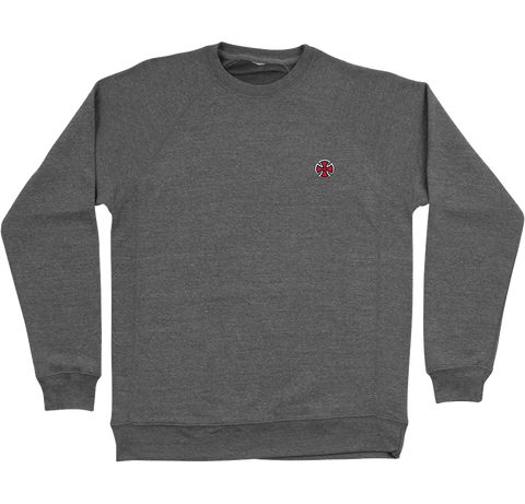 Independent - Cross Crewneck - Nickel Grey
