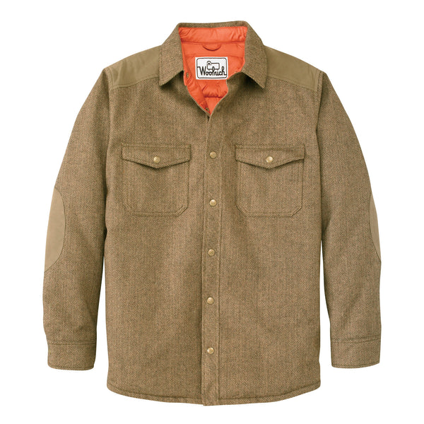 Woolrich White Label - The Mix Up Wool Shirt - Herringbone/Olive