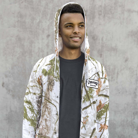 Thrasher - Patch Coaches Jacket - Snow Camo