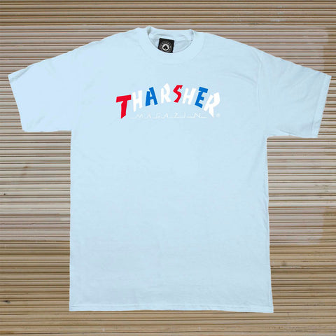 Thrasher - Knock-Off Tee - Light Blue