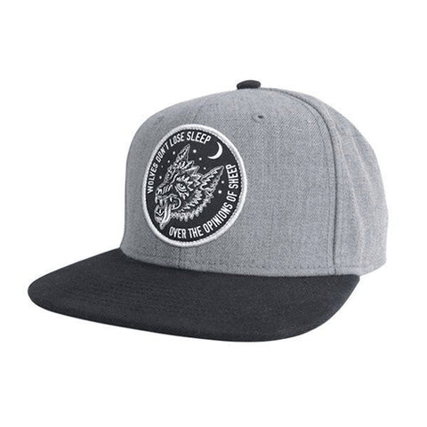 Sketchy Tank - Opinions Snapback - Heather Grey