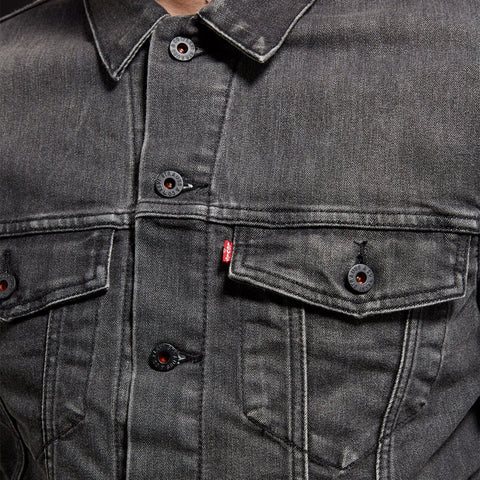 Levi's Skateboarding - Trucker Jacket - Black Denim