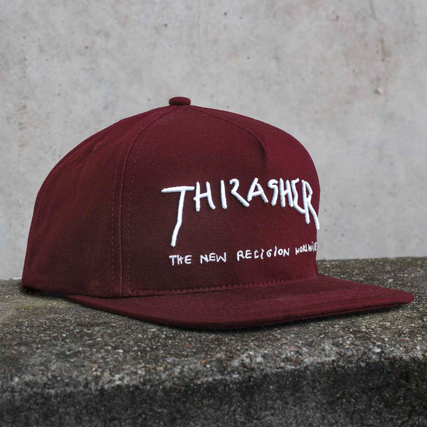 Thrasher - New Religion Snapback - Maroon