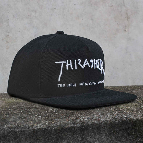 Thrasher - New Religion Snapback - Black