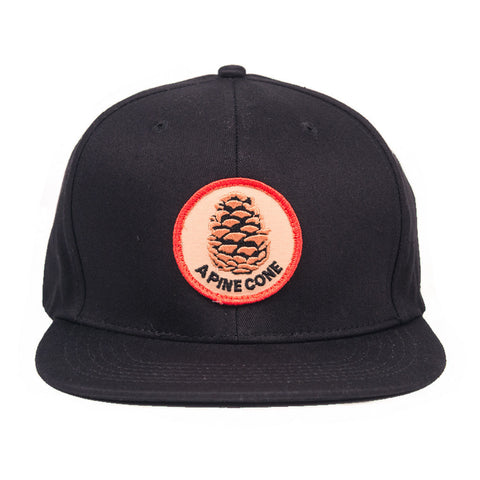 Skate Mental - Pinecone Snapback - Black