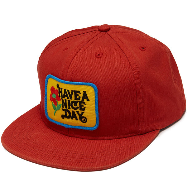 ABC Hat Co. - Have A Nice Day Snapback - Rust
