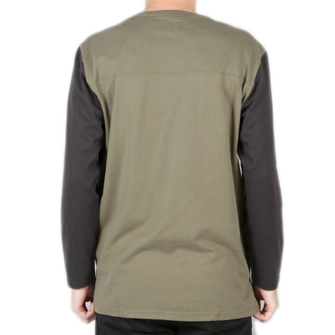 Levi's Skateboarding - L/S Football Shirt - Ivy Green