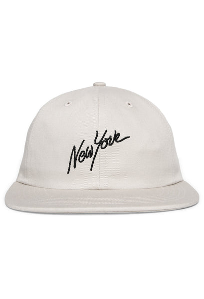 Nothin' Special - Big City Dream 6 Panel Cap - Off White