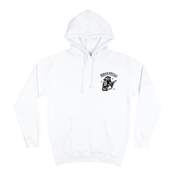 Born X Raised - Reaper Hoodie - White