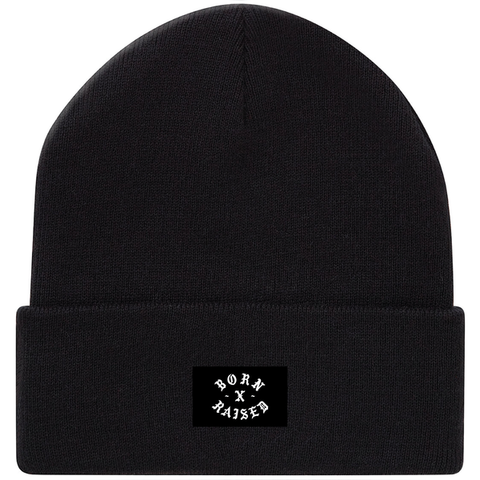 Born X Raised - Look out Beanie - Black