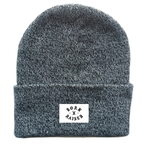 Born X Raised - Look out Beanie - Heather Grey