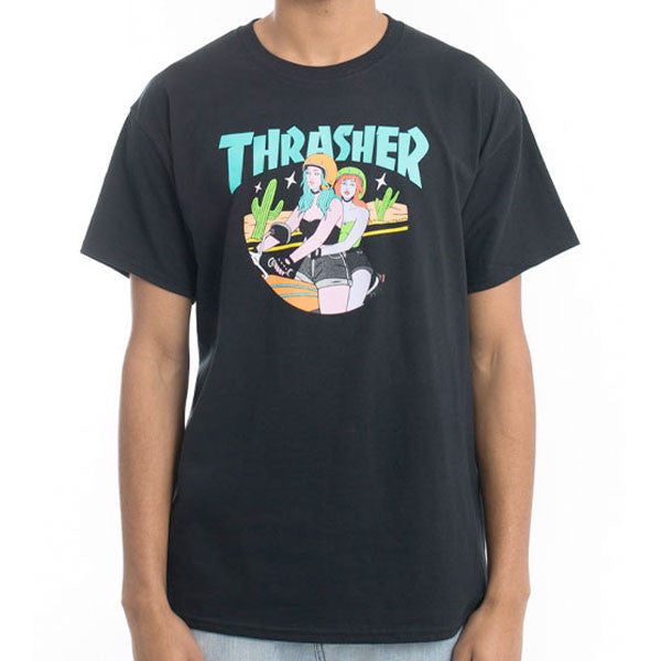 Thrasher - Babes Tee - Black