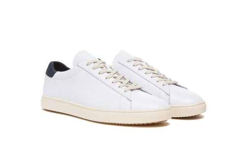 Clae - Bradley - White Leather