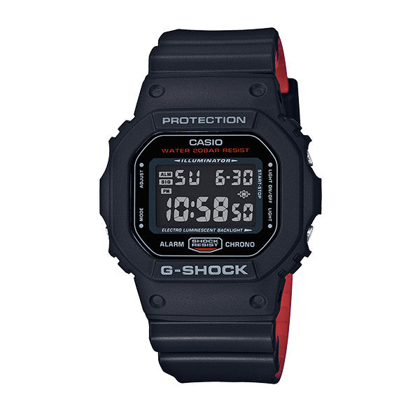 Casio - G-Shock DW-56000HR-1 - Black/Red