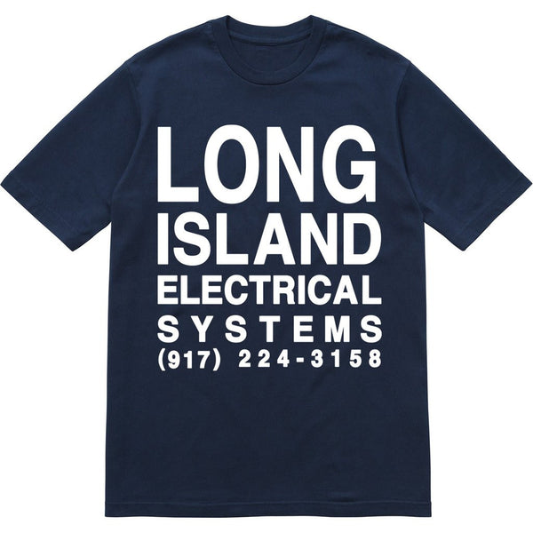 L.I.E.S. Records - L.I.E.S. Club Tee - Navy