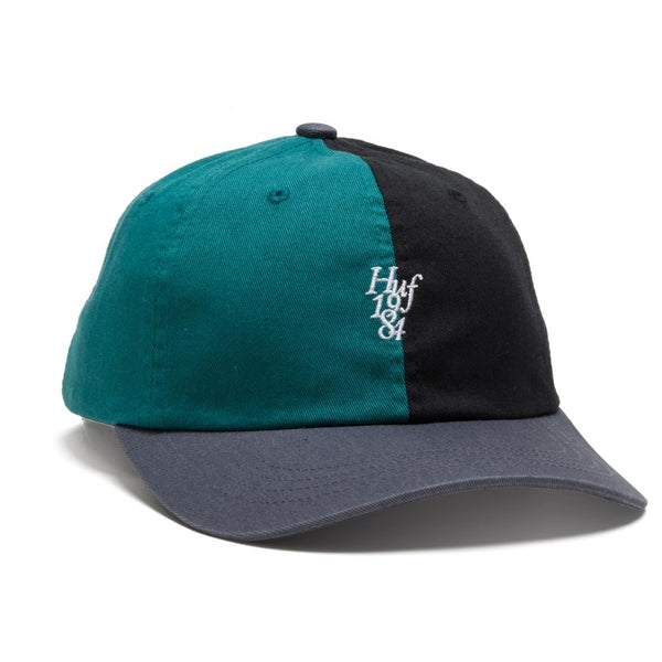 HUF - Country Club Curve Visor 6 Panel - Black