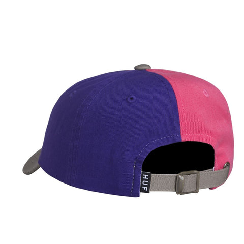 HUF - Country Club Curve Visor 6 Panel - Purple