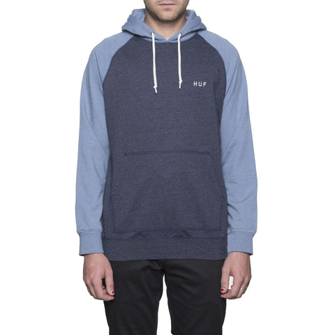 HUF - Dalton Pullover Hooded Knit - Light Blue/Navy