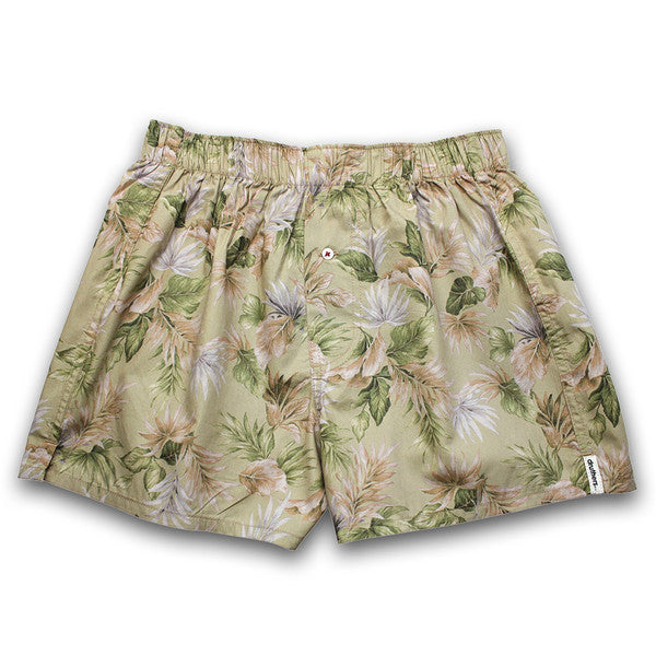 Druthers - Jungle Boxer Shorts - Green