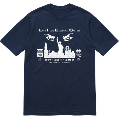 L.I.E.S. Records - The Eyes and Ears Tee - Navy