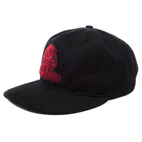 Psychic Hearts - Fire in Cairo Ebbets Field Snapback - Black