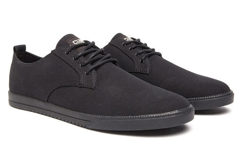 Clae - Ellington Textile - Black Hemp Canvas