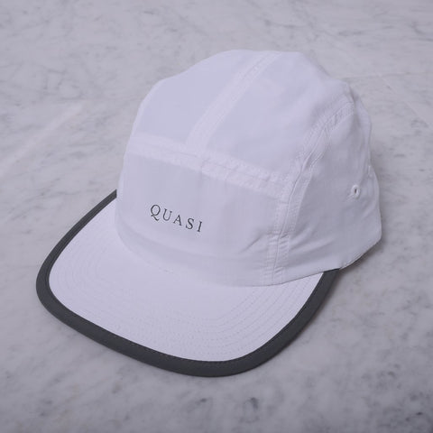 Quasi - Five 5 Panel Hat - White