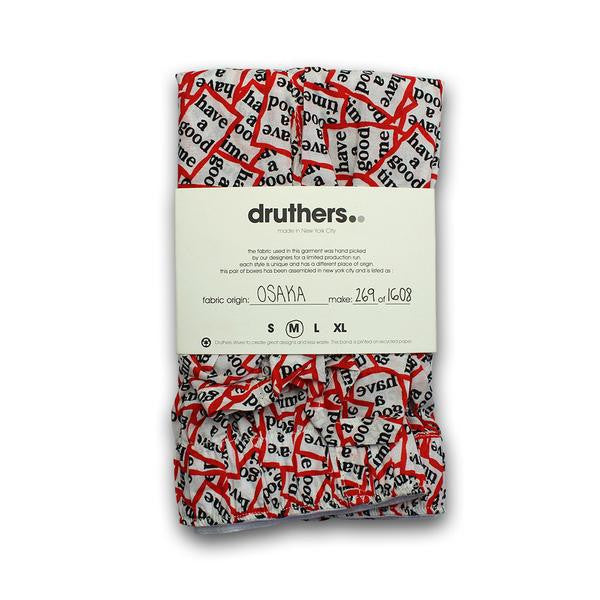 Druthers -  Have A Good Time Boxer - Multi