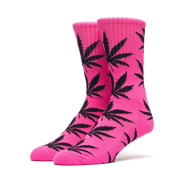 HUF - Highlighter Plantlife Crew Sock - Neon Pink