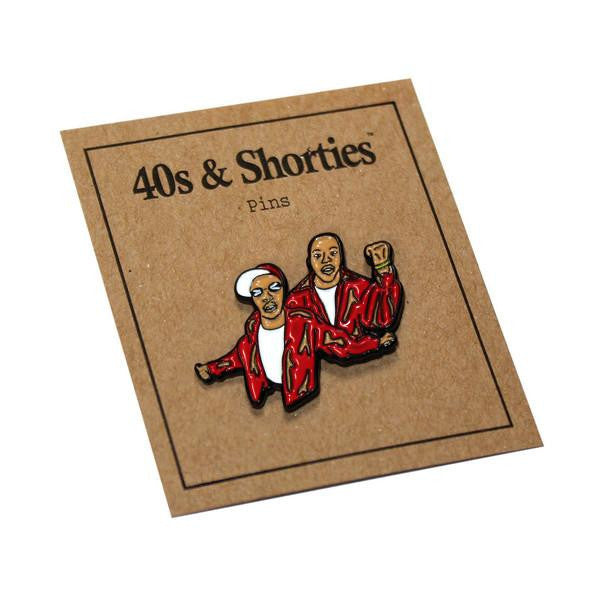 40s & Shorties - Harlem World Pin - Red