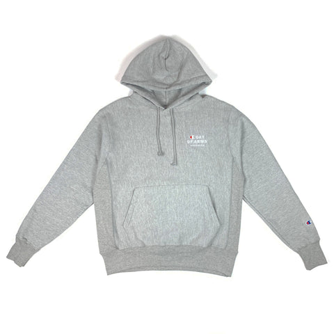 COA Brooklyn - COA Champion Reverse Weave Hoodie - Heather Gray