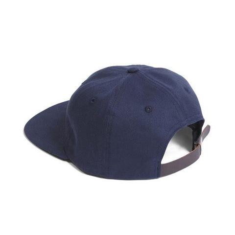 Raised by Wolves - Gothic Polo Cap - Navy Brushed Twill