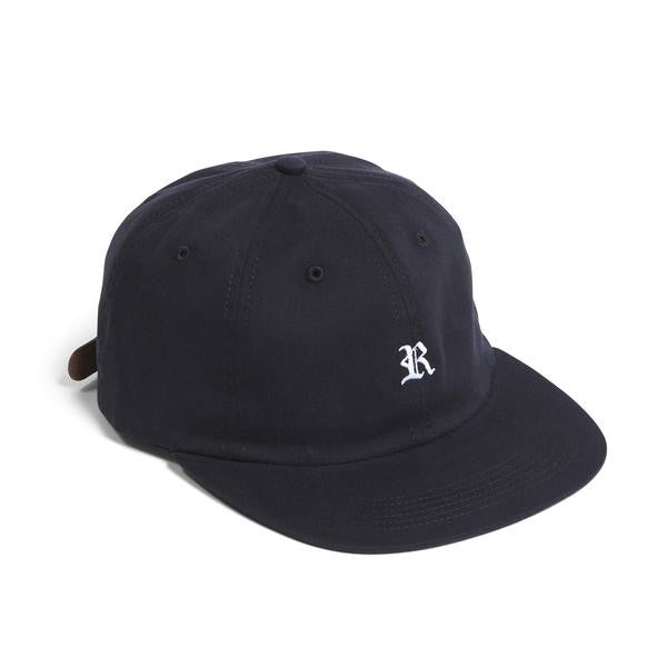 Raised by Wolves - Gothic Polo Cap - Black Brushed Twill