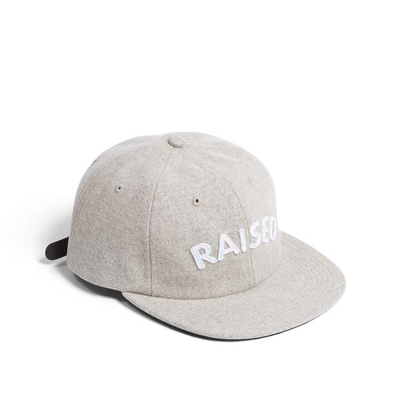 Raised by Wolves - Raised Polo Cap - Oatmeal