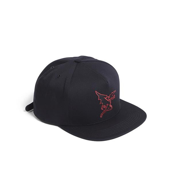 Raised by Wolves - Creature Strapback Cap - Black