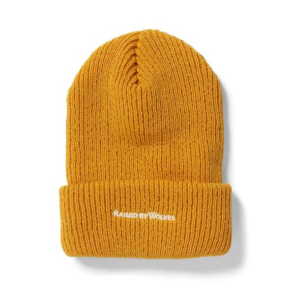 Raised by Wolves - Ranger Watch Beanie - Gold