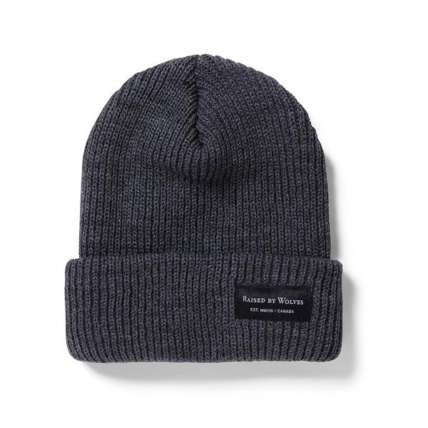 Raised by Wolves - Alert Watch Beanie - Heather Charcoal
