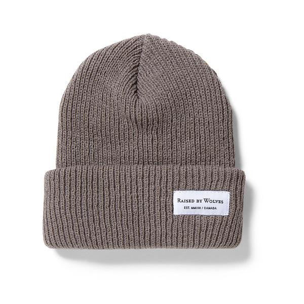 Raised by Wolves - Alert Watch Beanie - Heather Khaki
