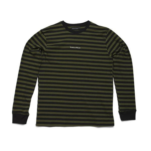Raised by Wolves - Krueger Long Sleeve Tee - Olive Drab