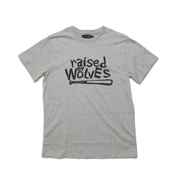 Raised by Wolves - Nature Tee - Athletic Grey