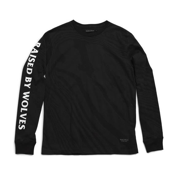 Raised by Wolves - Damascus Long Sleeve Tee - Black