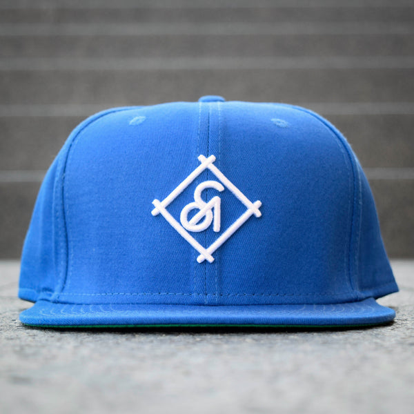 COA Brooklyn - Diamond 6 Panel Cap - Blue