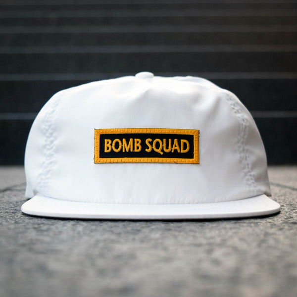 COA Brooklyn - Deconstructed Bomb Squad Snapback - White