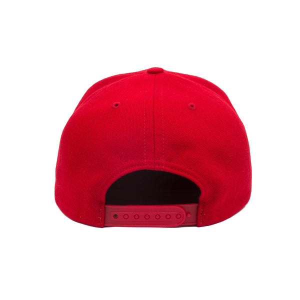 Born X Raised - Rocker Snapback - Red
