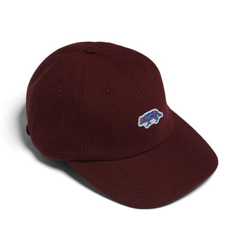 Raised by Wolves - Geowulf Polo Cap - Cardinal
