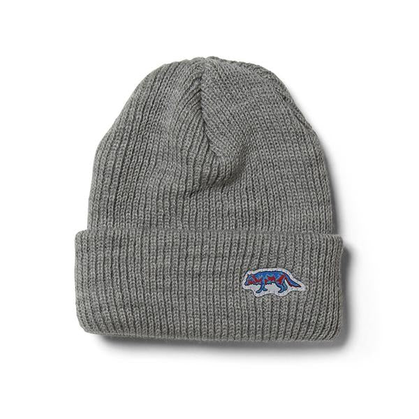 Raised by Wolves - Geowulf Watch Cap - Athletic Grey