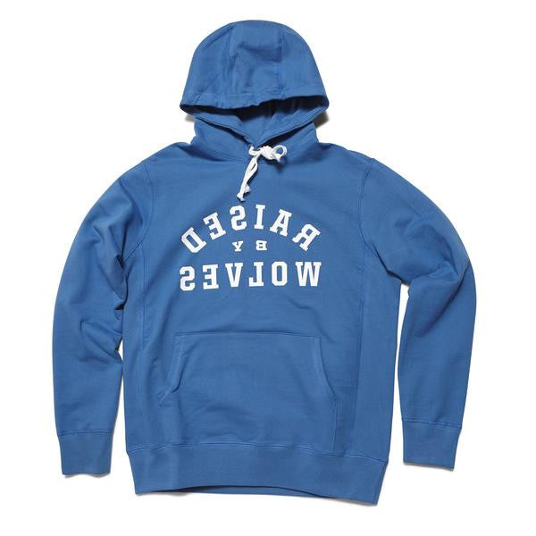 Raised by Wolves - Mirror Hooded Sweatshirt - Indigo