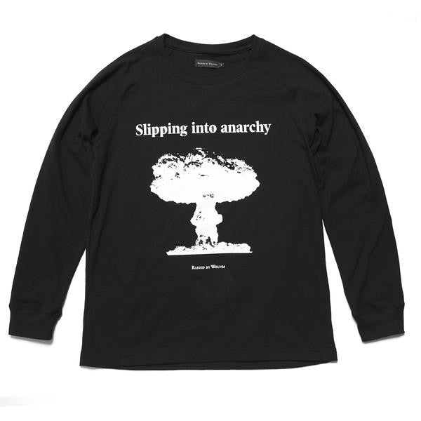 Raised by Wolves - Anarchy Long Sleeve T-shirt - Black